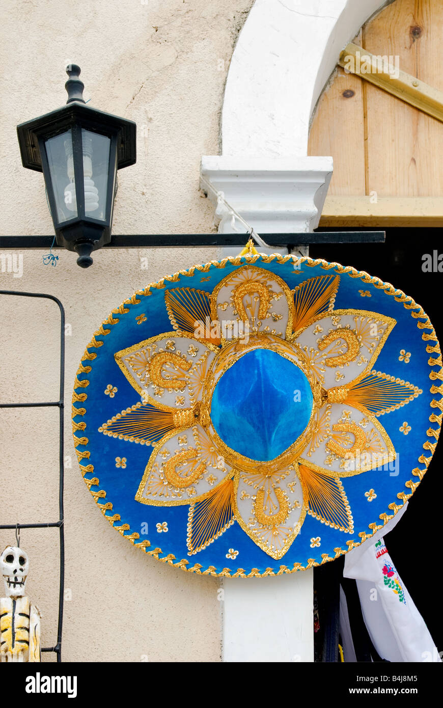 Sombrero at curio shop in Todos Santos Baja California Sur Mexico - Stock  Image 3717b682faa