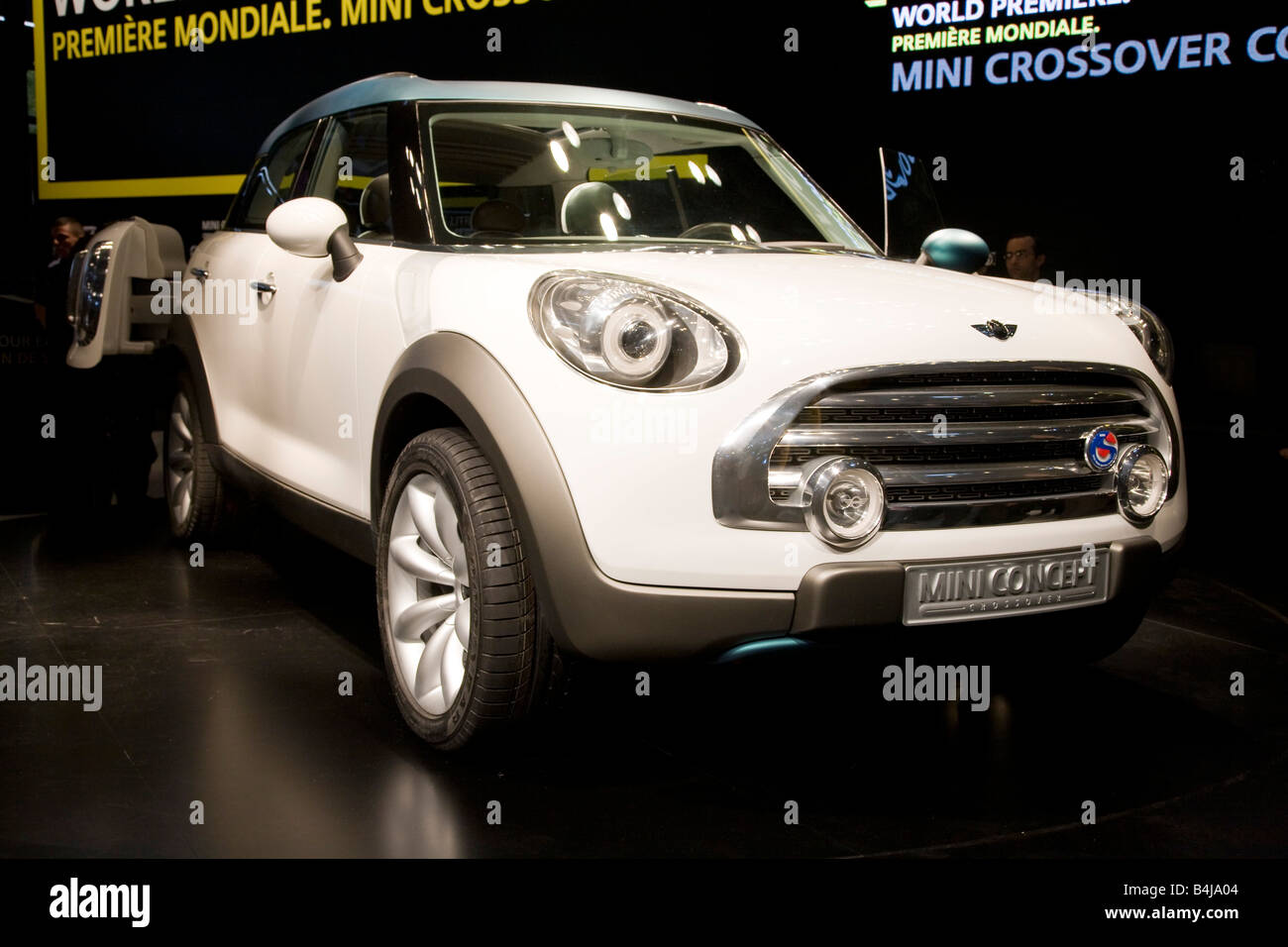 BMW Mini Crossover Concept. On show at a Motor Show 2008. The Mondial de l'Automobile. - Stock Image