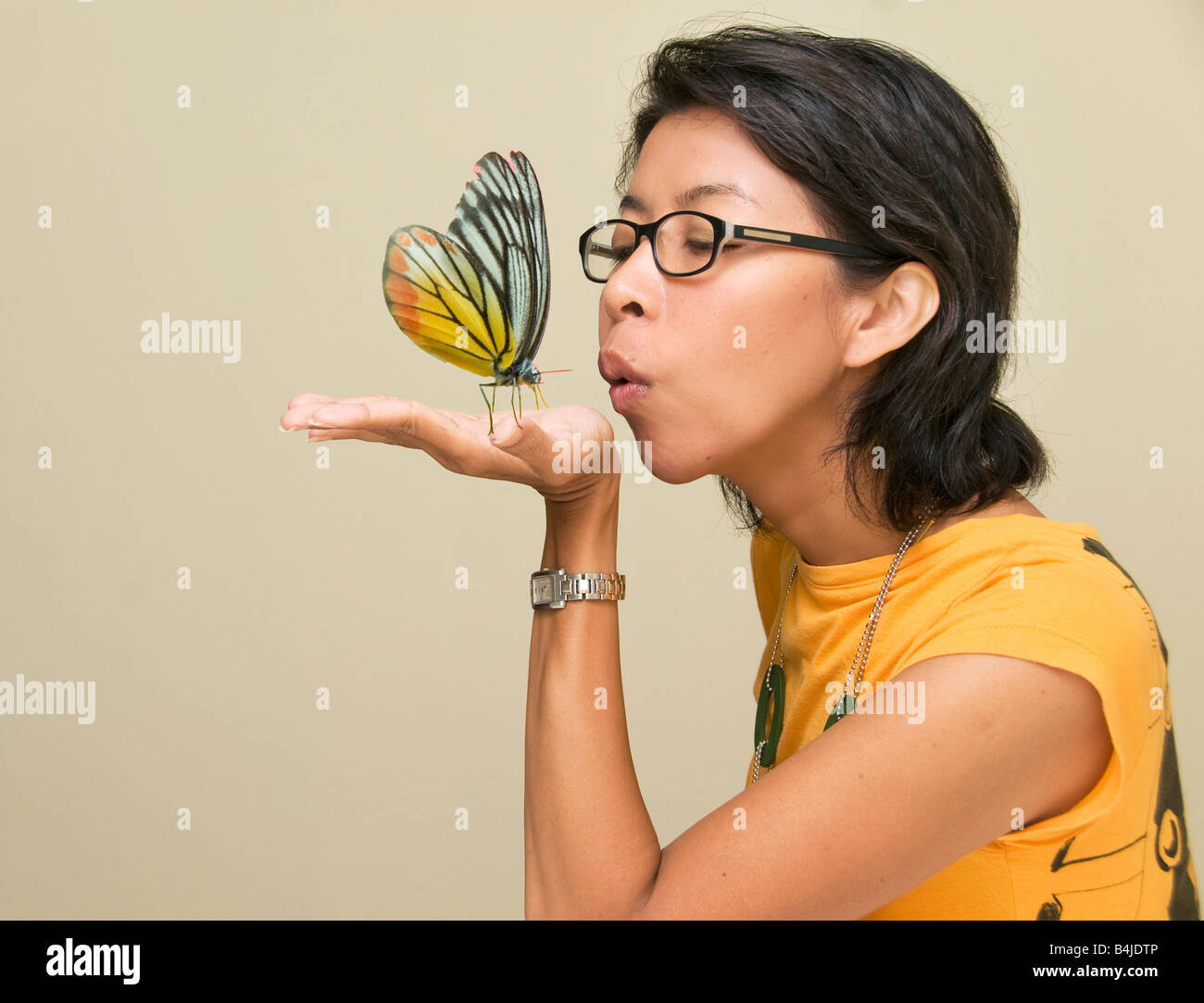 A kiss whats butterfly The Real