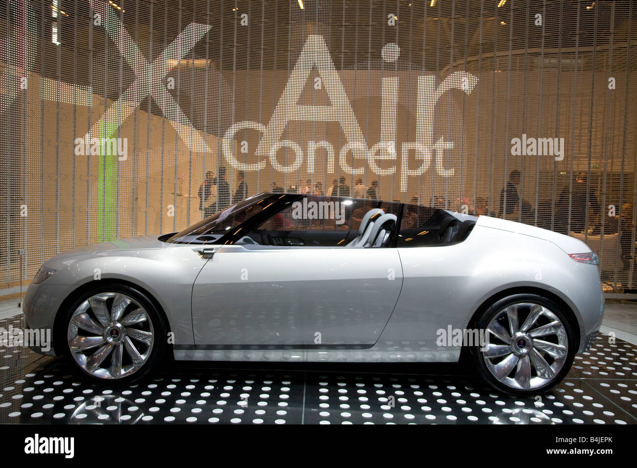 Saab 9-X Air Concept on show at a Motor Show 2008. - Stock Image
