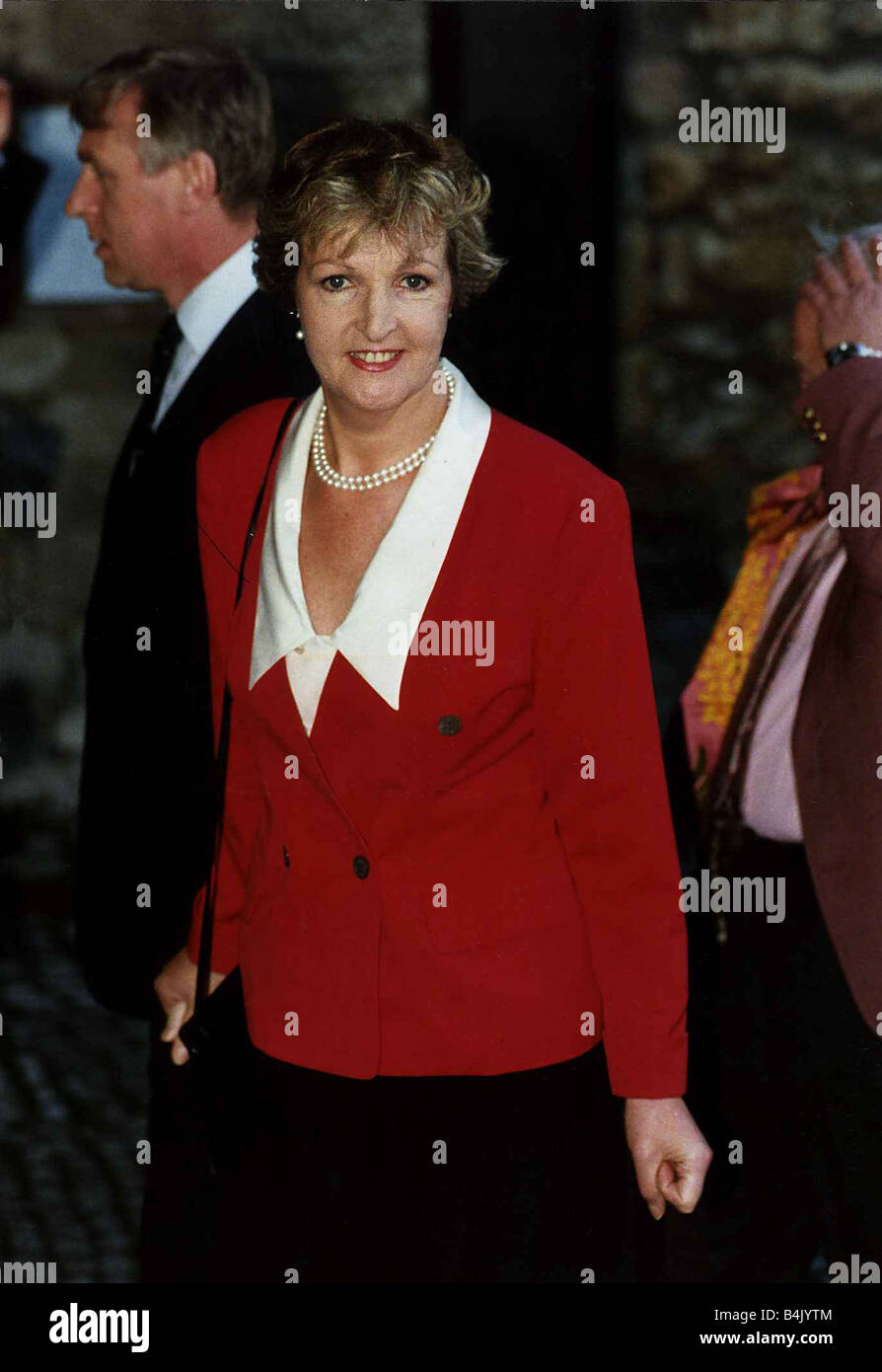 Penelope Keith actress who starred in To The Manor Born October 1989 DBase - Stock Image