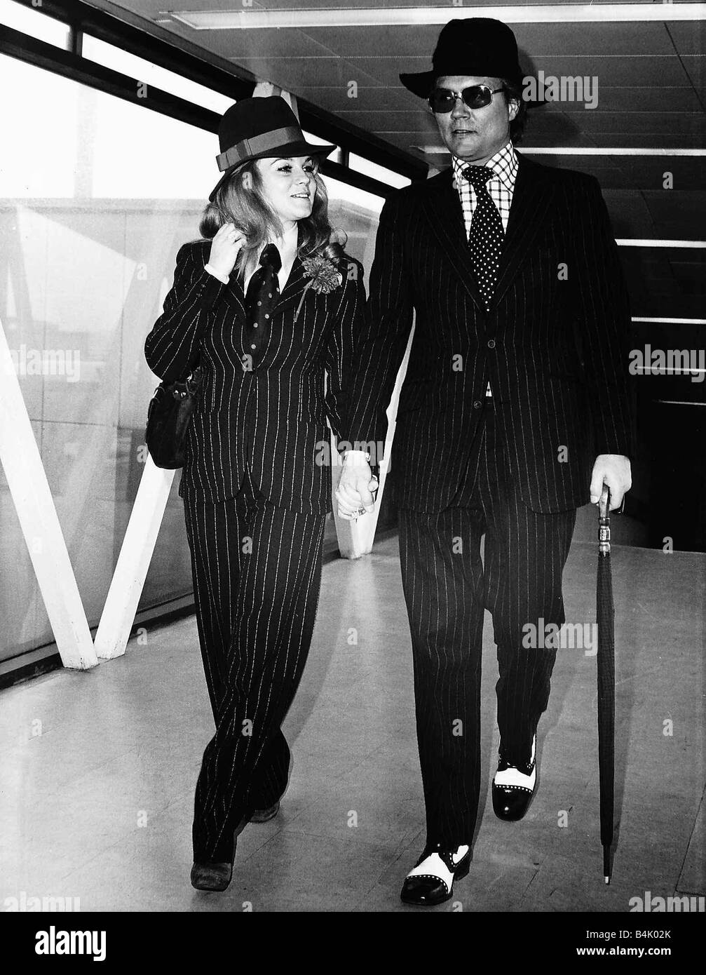 Ann Margret Actress with husband Roger Smith DBase - Stock Image