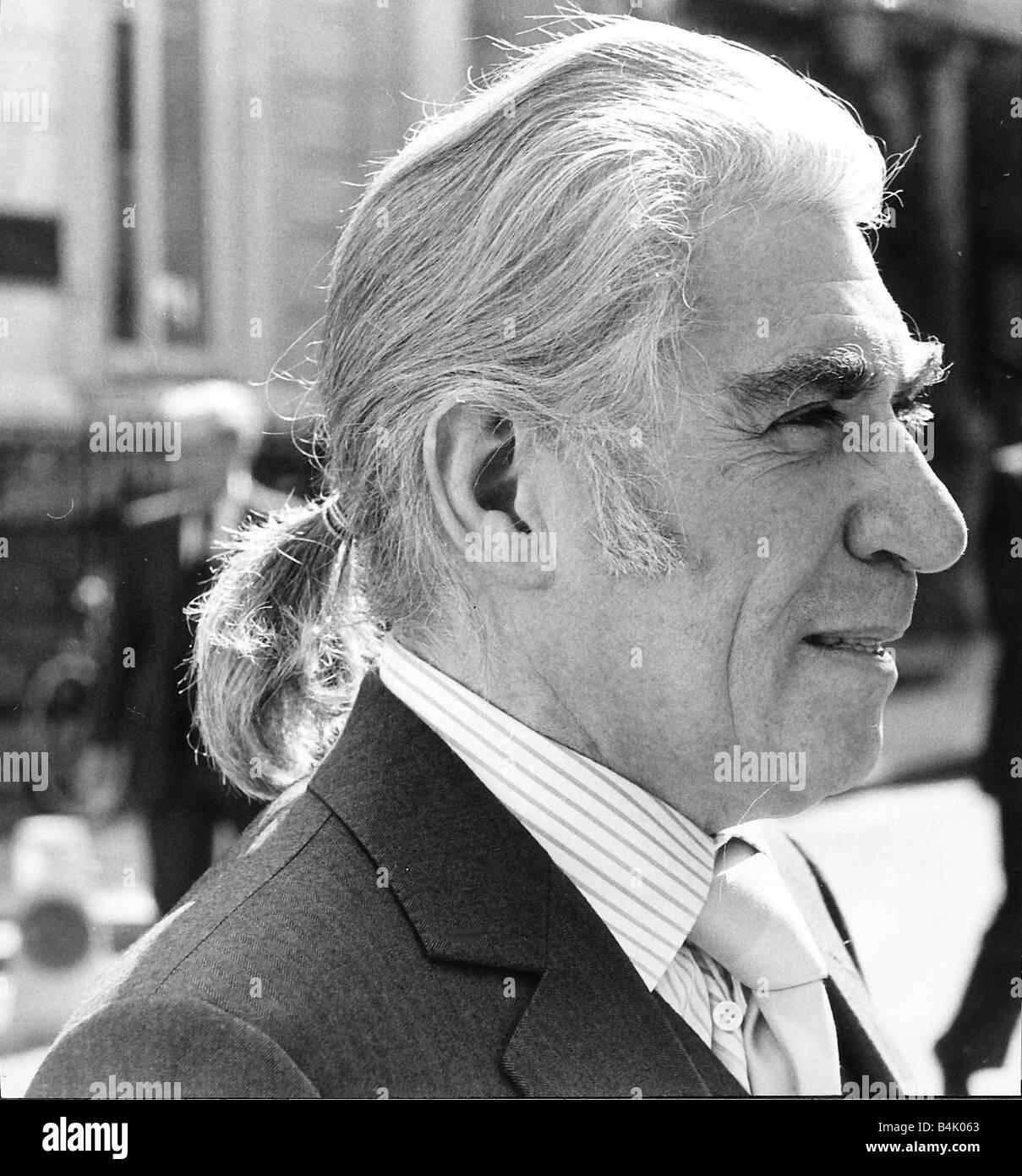 Frank Finlay actor May 1986 DBase - Stock Image