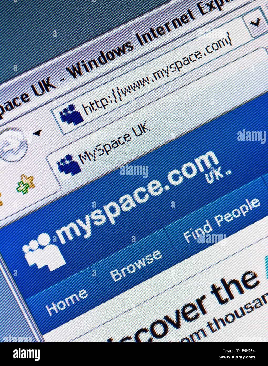 Myspace Logo Stock Photos Myspace Logo Stock Images Alamy