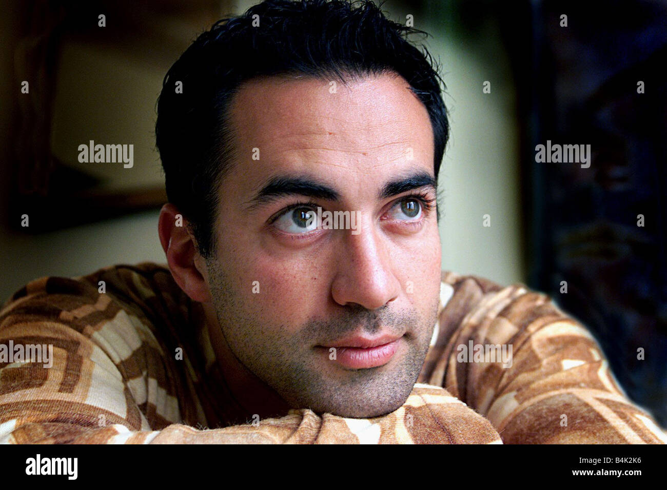 Adam Hollioake July 2002 Pictured in interview talking of his brother Ben Hollioake July 2002 - Stock Image