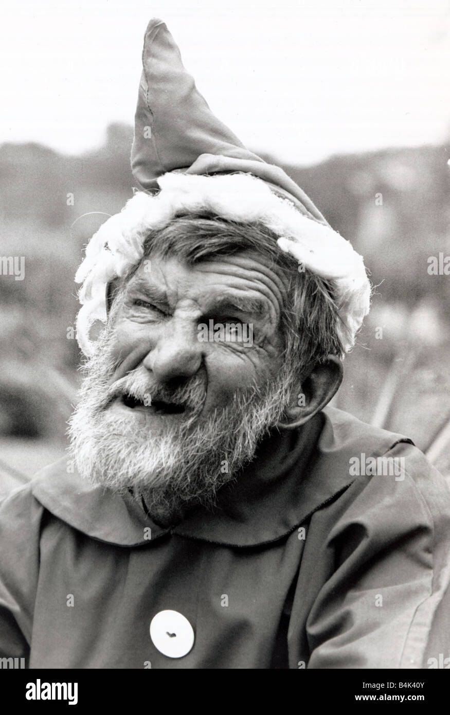 Walter Sherratt is 67 5ft 2in small and is called Gnomey by his neighbours He loves his garden and also takes care - Stock Image