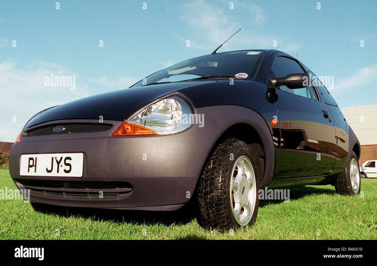 Jackie Stewart S Ford Ka Car January  Front Bonnet And Grey Bumper Alloy Wheels