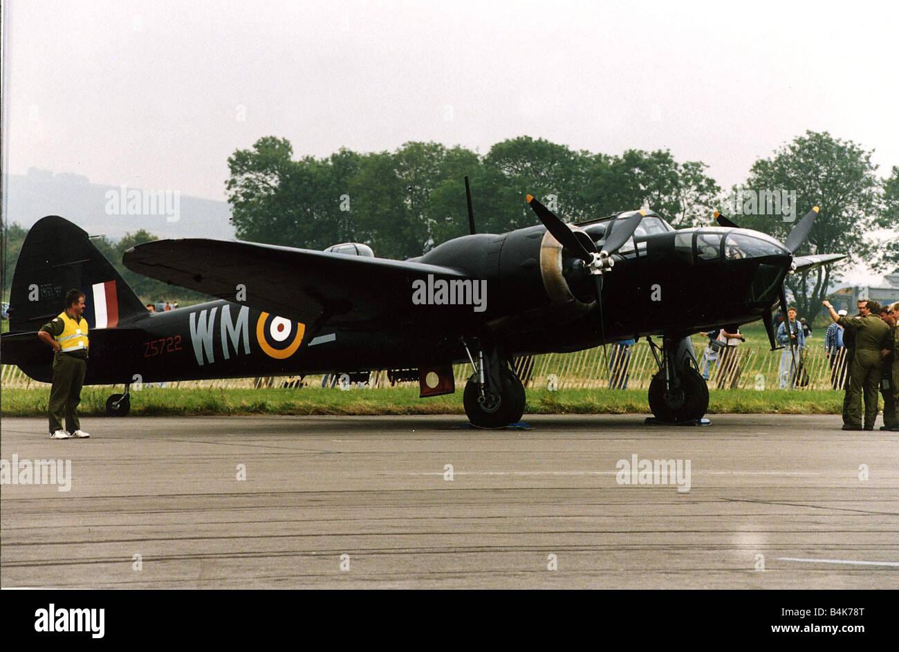 Aircraft Bristol Blenheim WW2 Plane - Stock Image