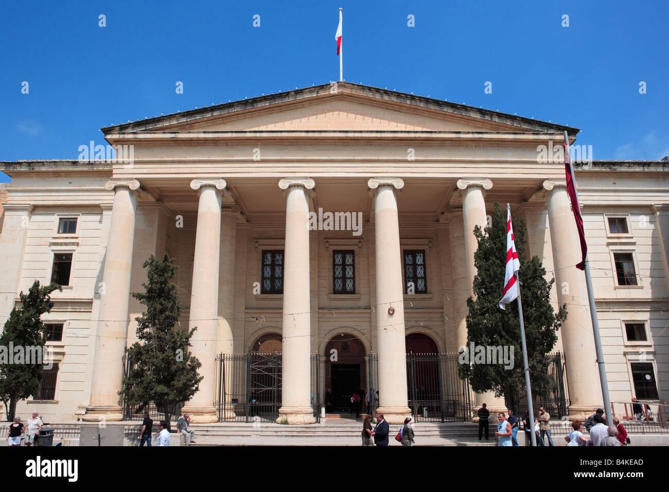 Law Courts Valletta Malta - Stock Image