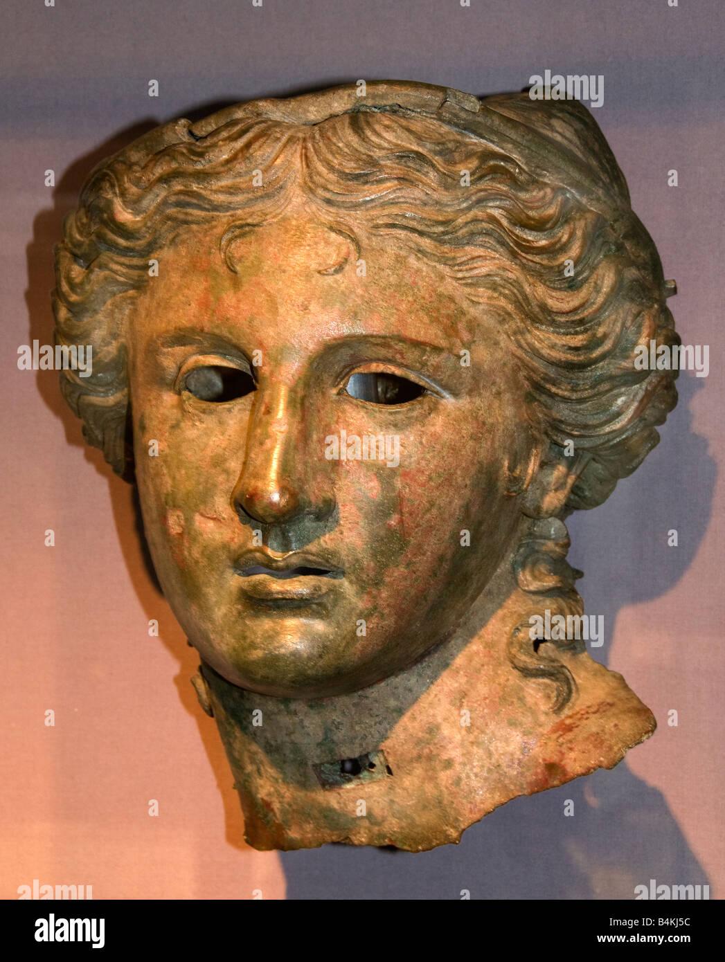 Anahita shown in the guise of Aphrodite 200 100 BC Satala North East Asia Minor Armenia - Stock Image