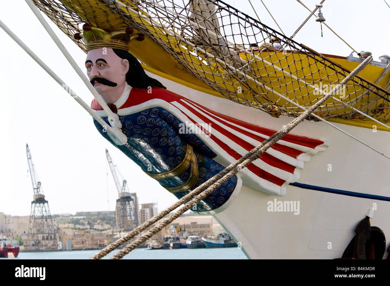 Mircea tall ship - Stock Image