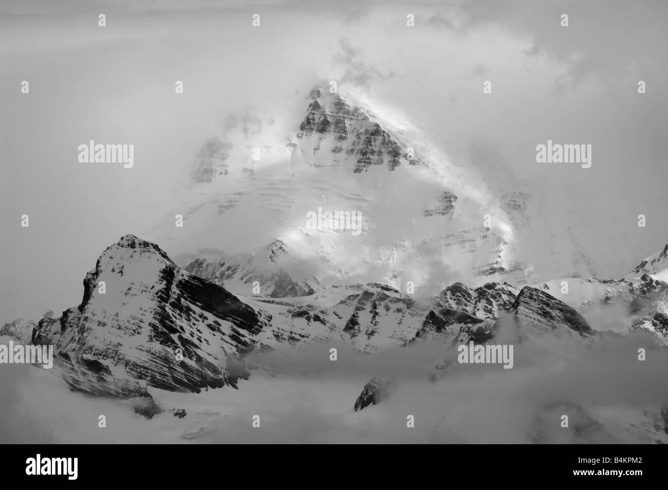 Antarctica, South Georgia Island, Allardyce Range - Stock Image