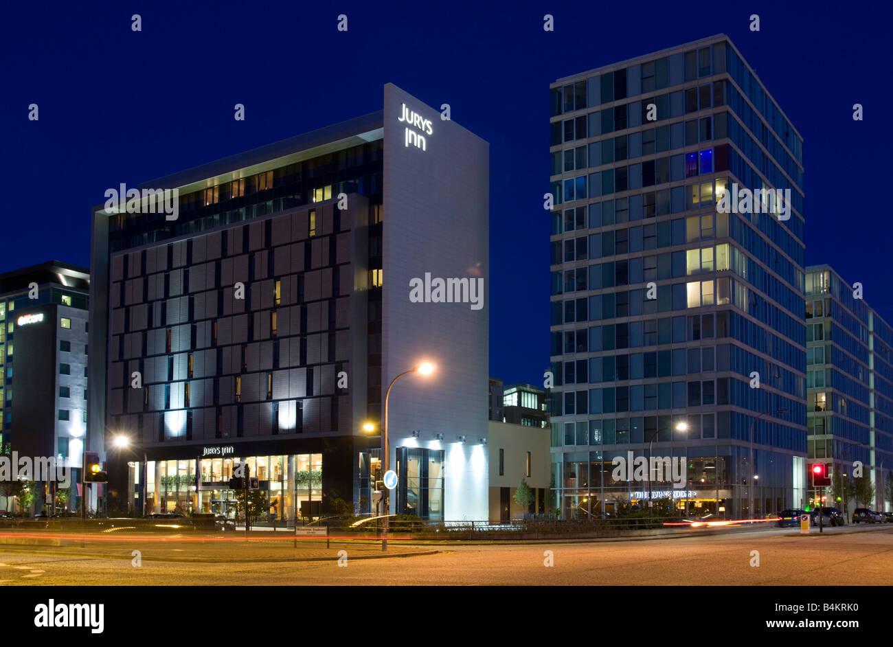 Thehub:mk Mid Rise Apartments And Juryu0027s Inn Hotel Central Milton Keynes  Buckinghamshire