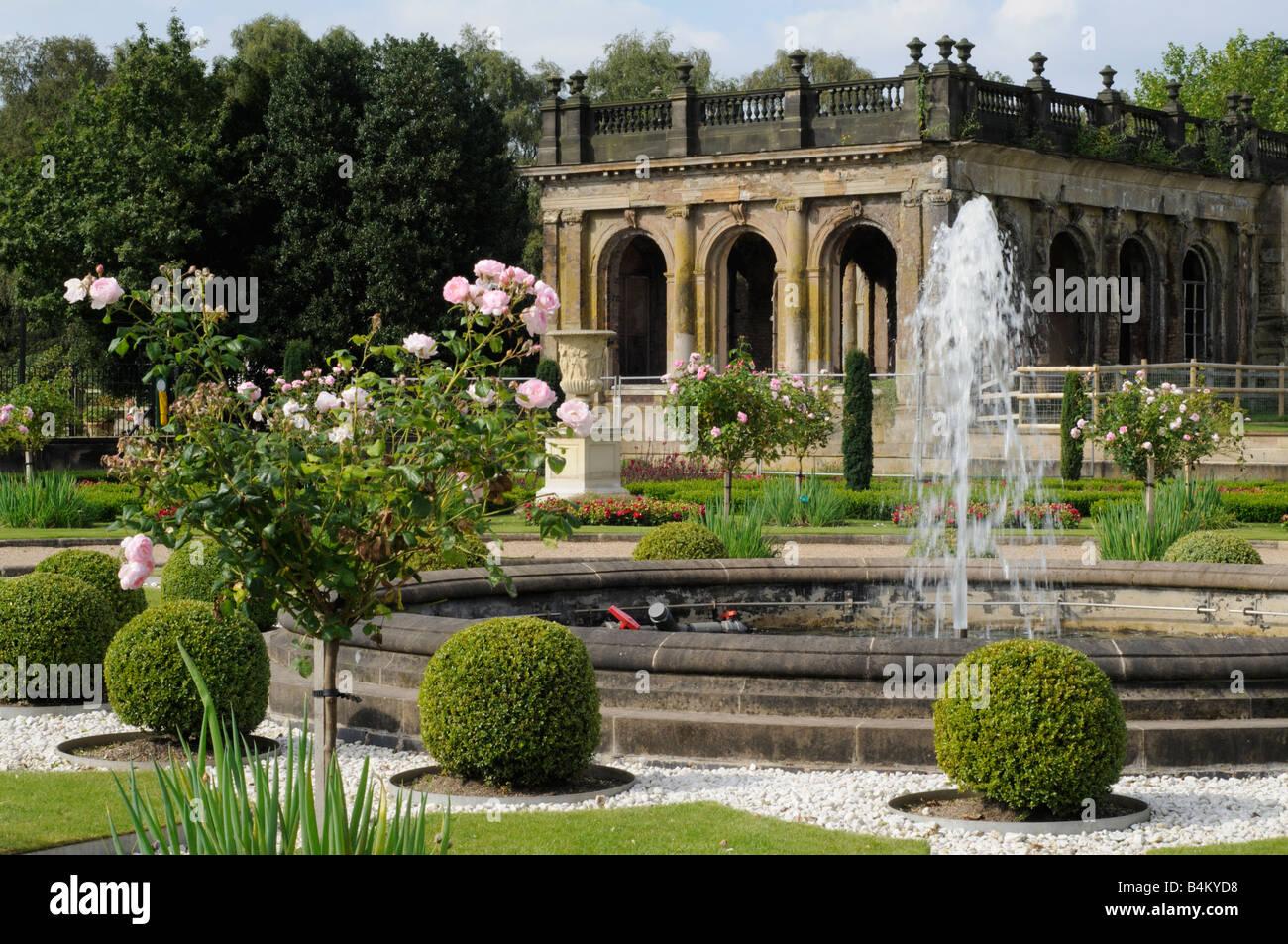 Trentham Gardens - Stock Image