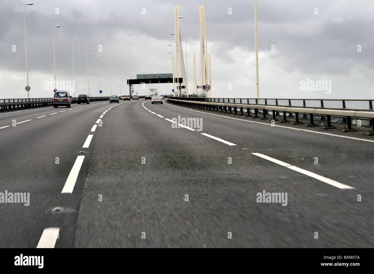 Dartford Bridge, UK - Stock Image