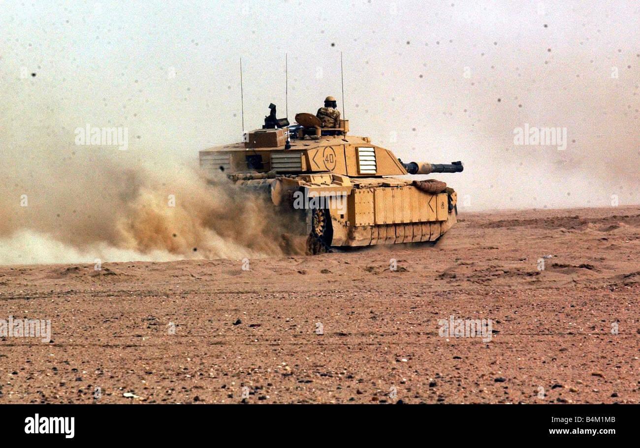 Iraq War 2003 - Stock Image