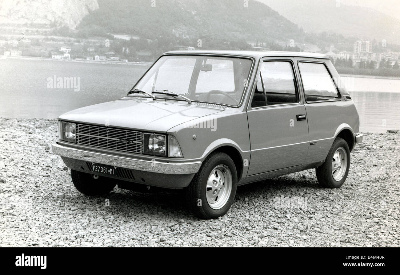 Motors Motor Cars Car Mini 120 Innocenti - Stock Image