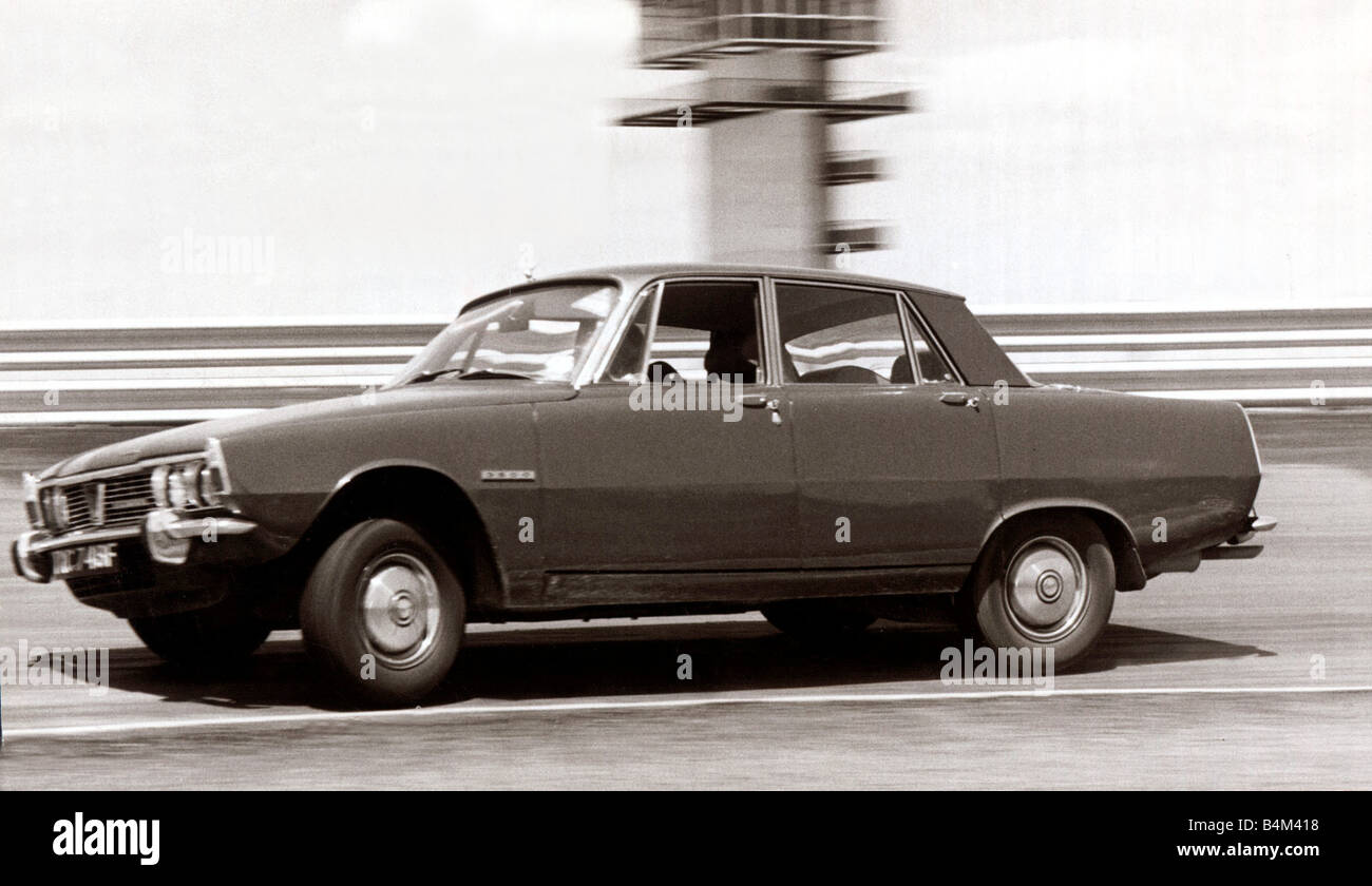 Motors Motor Cars Cars Rover 3500 DM - Stock Image