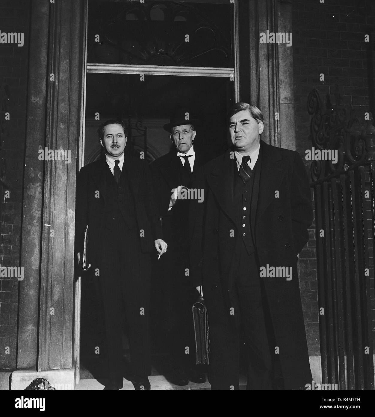 The Baby Of The Cabinet Harold Wilson Leaves 10 Downing Street With
