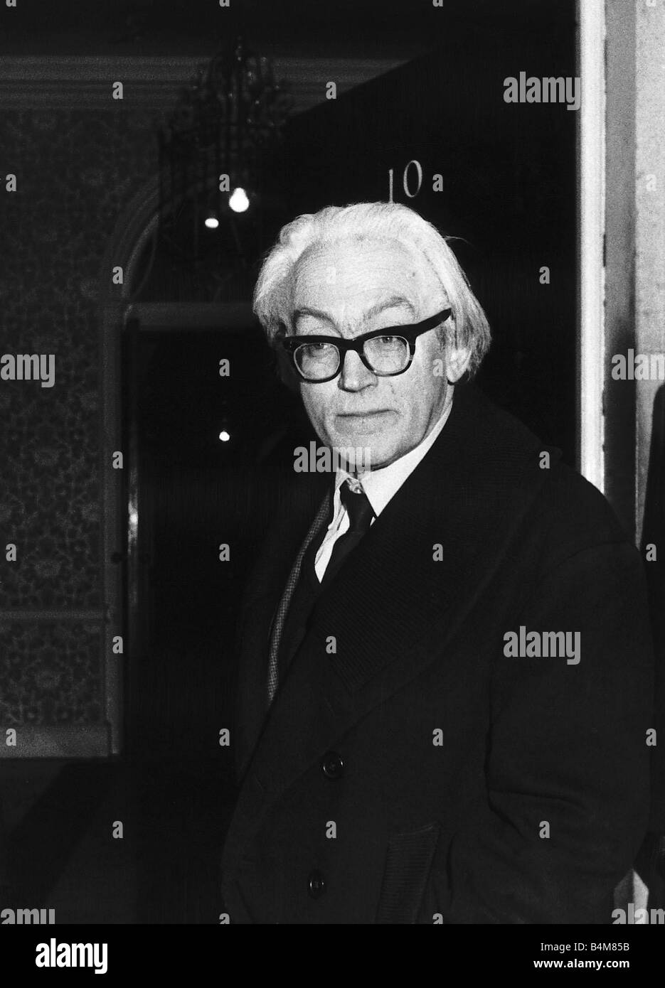 Michael Foot Mp Takes Over As Employment Secretary In Harold Wilson