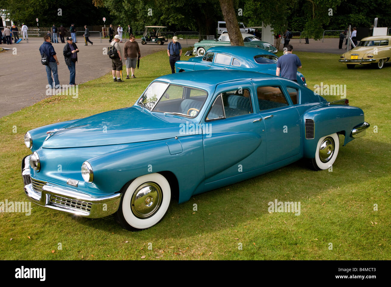 1948 Tucker Torpedo in the Cartier Style et Luxe display at Goodwood Festival of Speed, Sussex, UK. - Stock Image