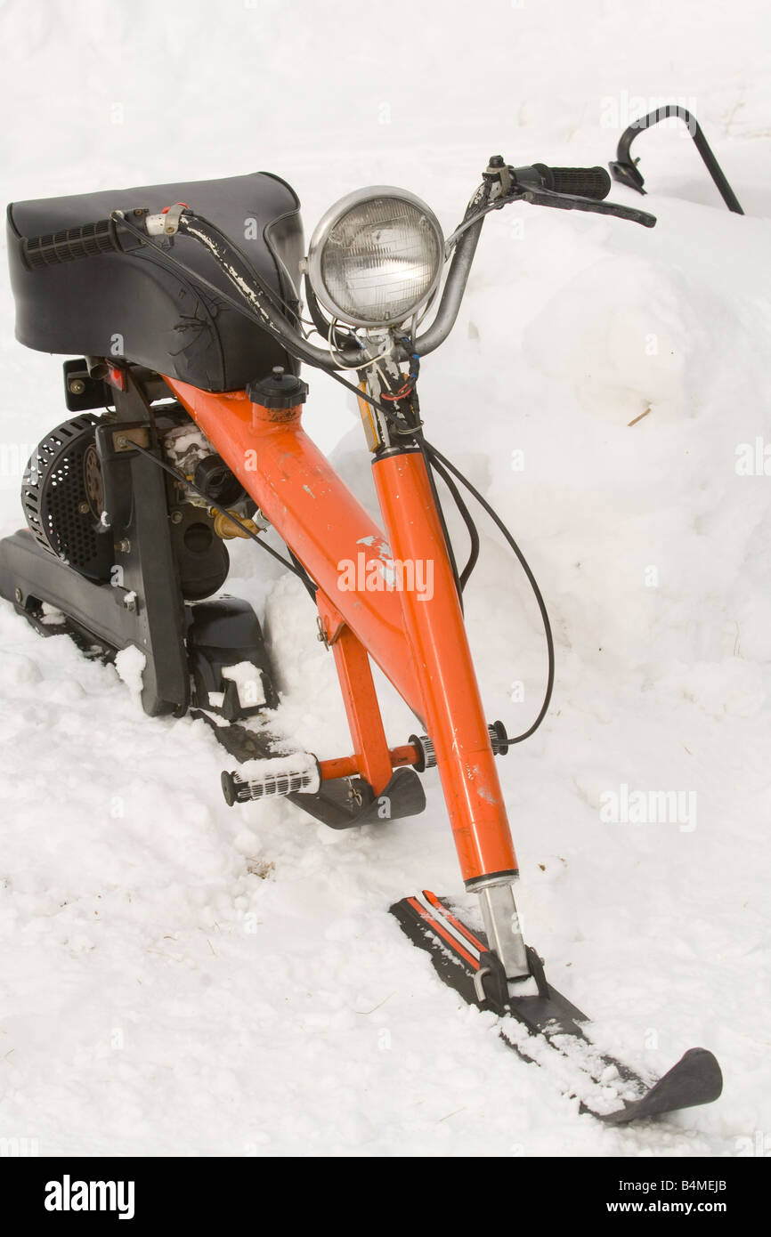 Retro Snowmobile Stock Photos & Retro Snowmobile Stock ...