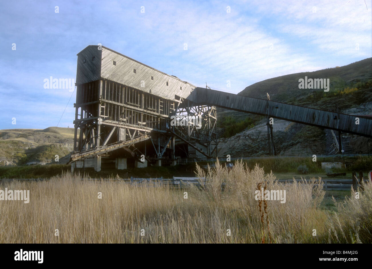 Atlas Coal Mine tipple - Stock Image
