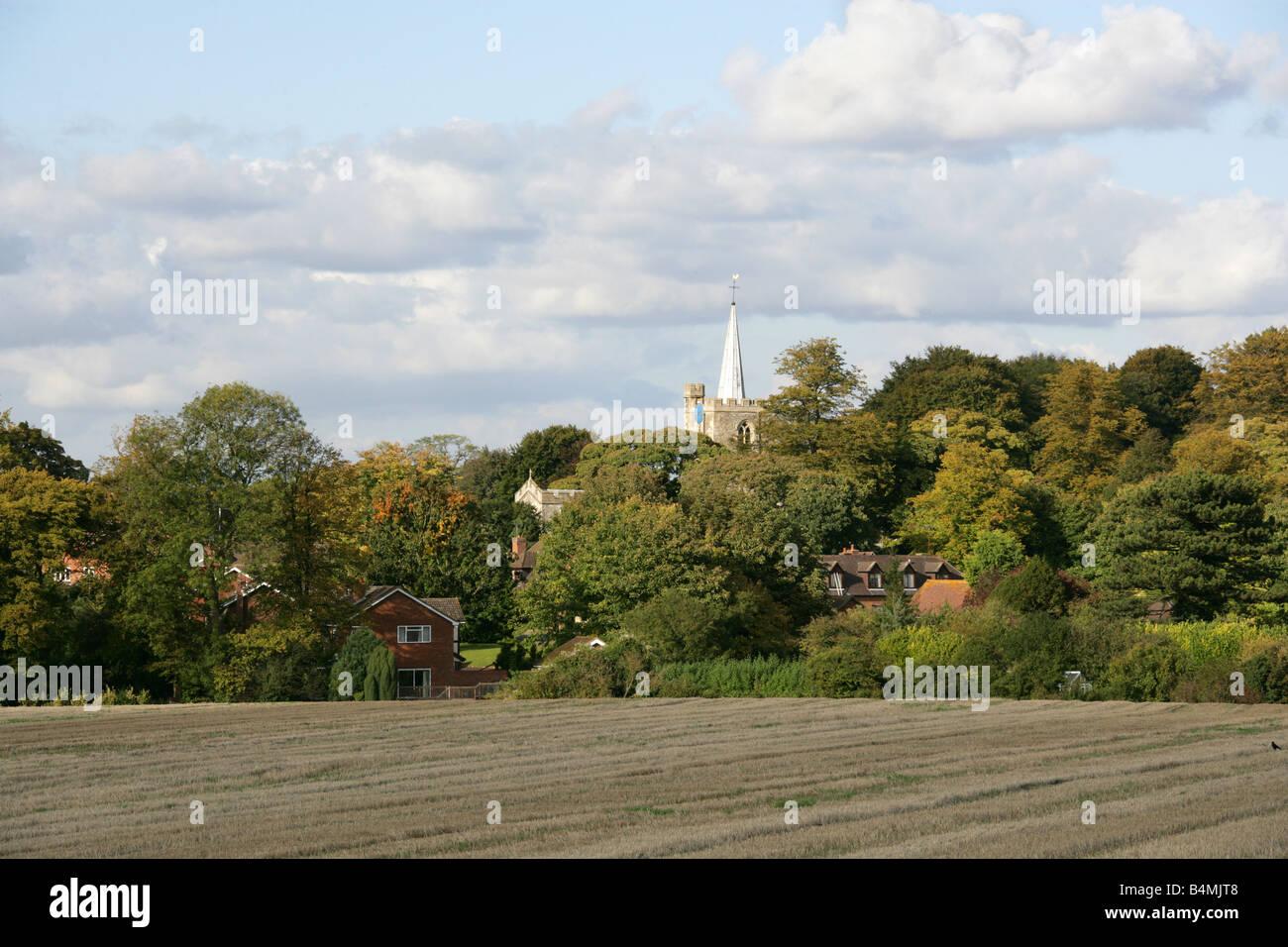 Pitstone, Buckinghamshire, UK - Stock Image