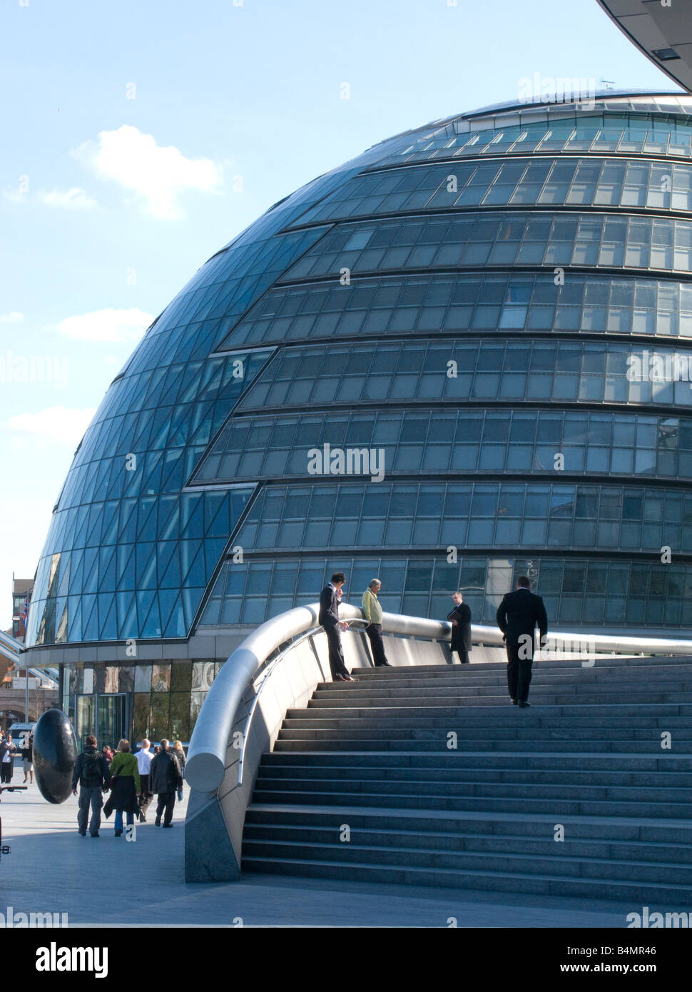 City Hall, London. Headquarters for the mayor of London and the London Assembly. - Stock Image