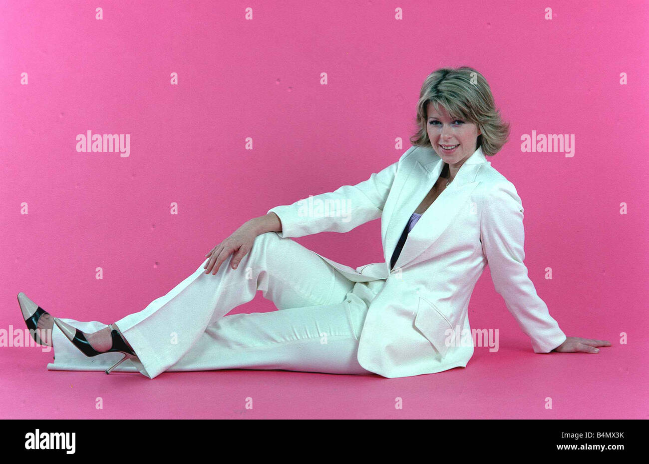 Kate Garraway GMTV Presenter February 2002 - Stock Image