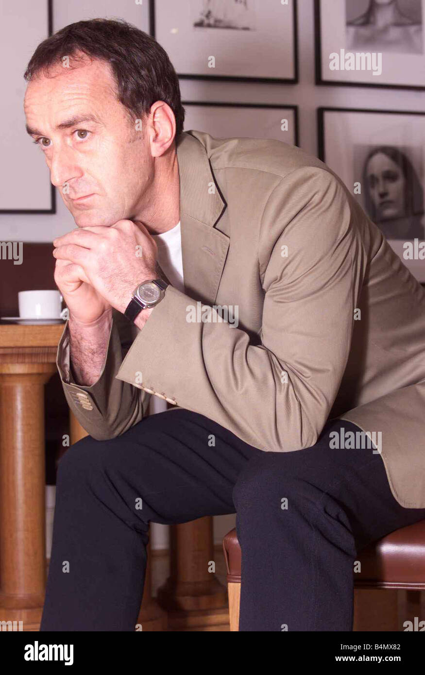 Angus Deayton May 2002 TV Presenter - Stock Image