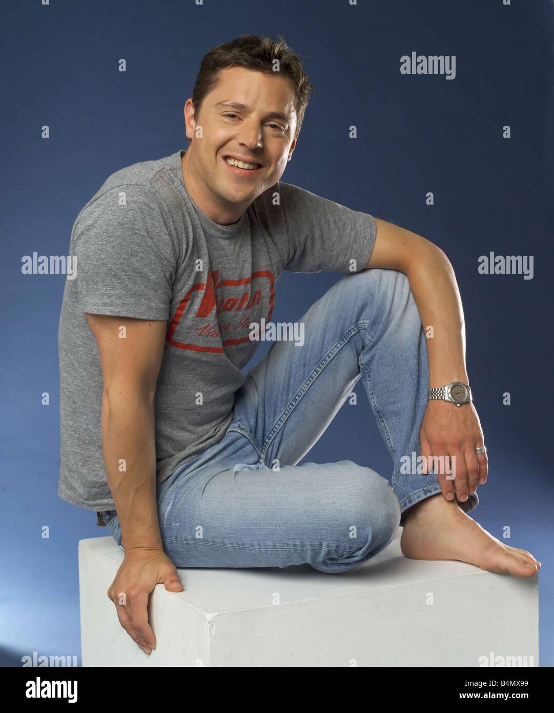 Gordan Whistance June 2002 Changing Rooms TV Presenter - Stock Image