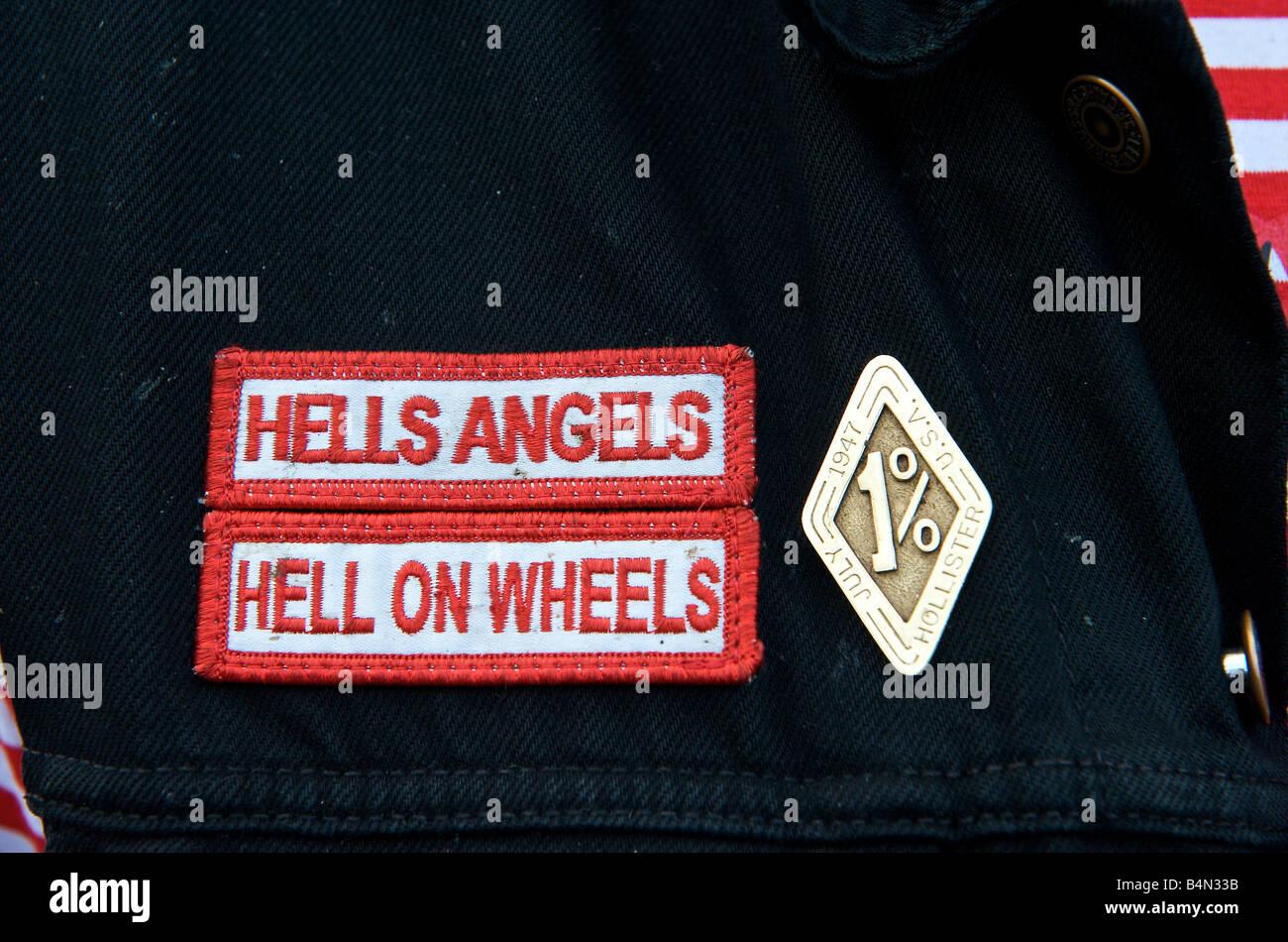 Hells Angels Jacket Stock Photos & Hells Angels Jacket Stock