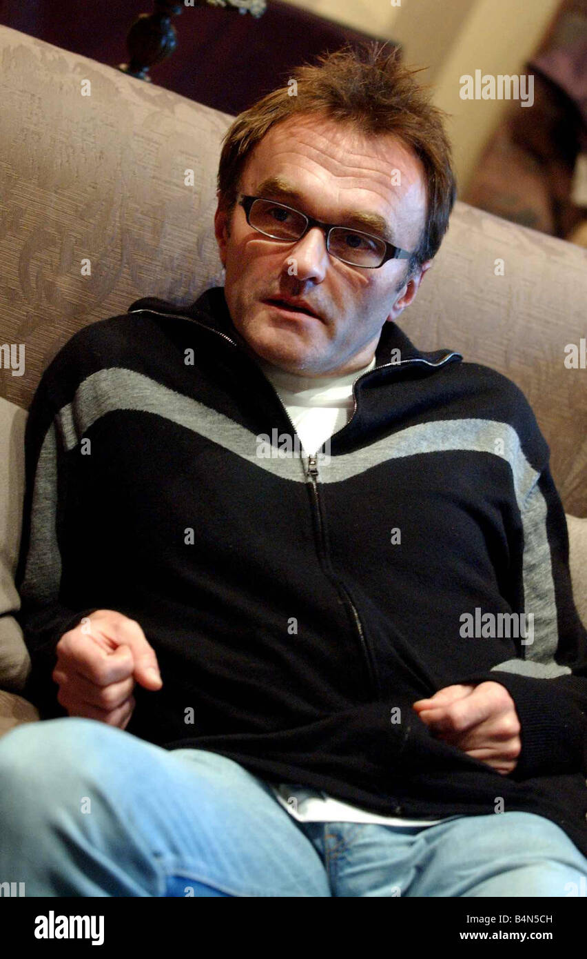 Danny Boyle Scots film director of 28 days later October 2002 - Stock Image