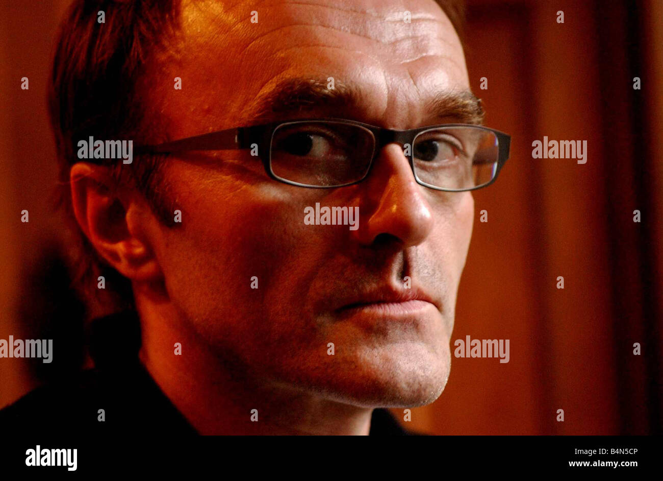 Danny Boyle Scots film director of 28 days later October 2002 Stock Photo