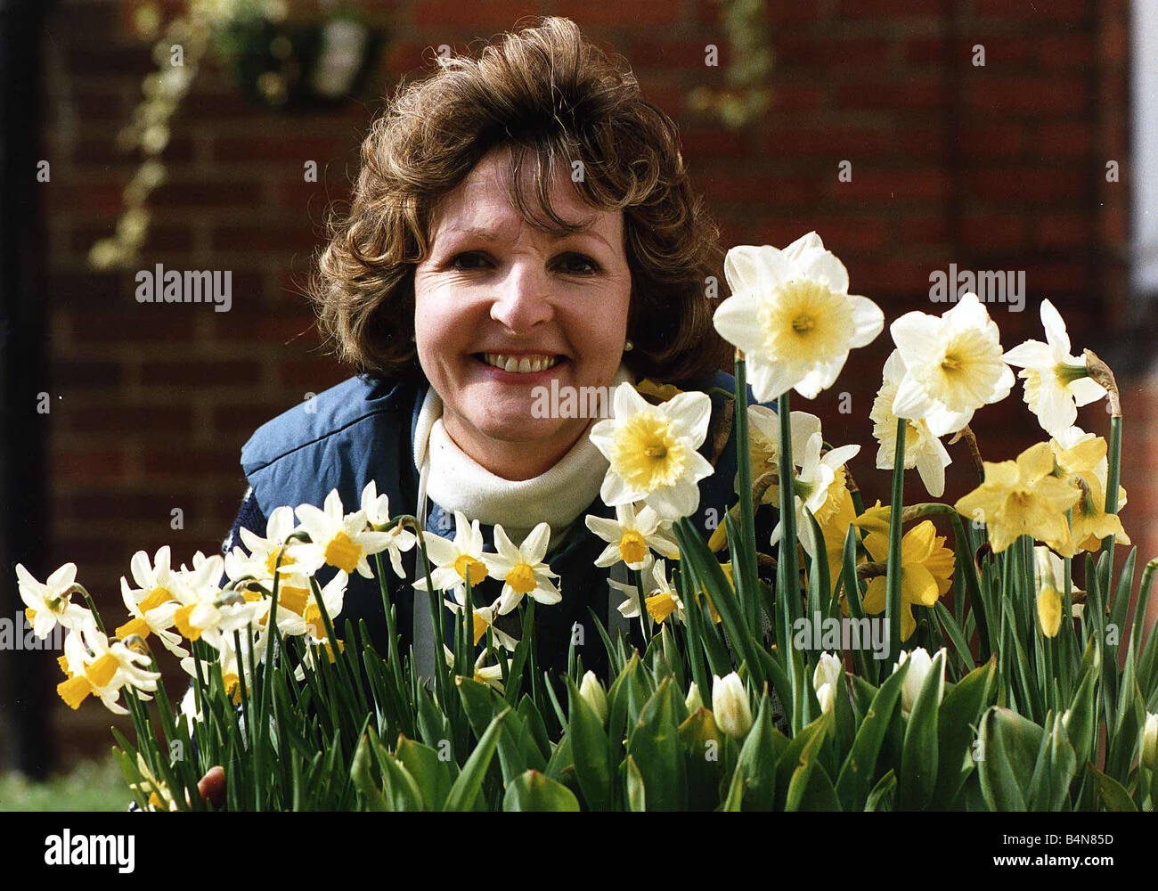 Penelope Keith actress from The Good Life and To The Manor Born April 1989 - Stock Image