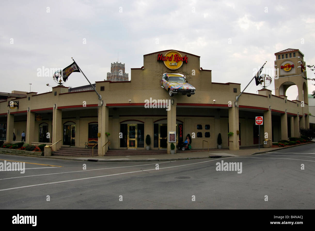 Hard Rock Cafe In Niagara Falls Ny In Usa Stock Photo