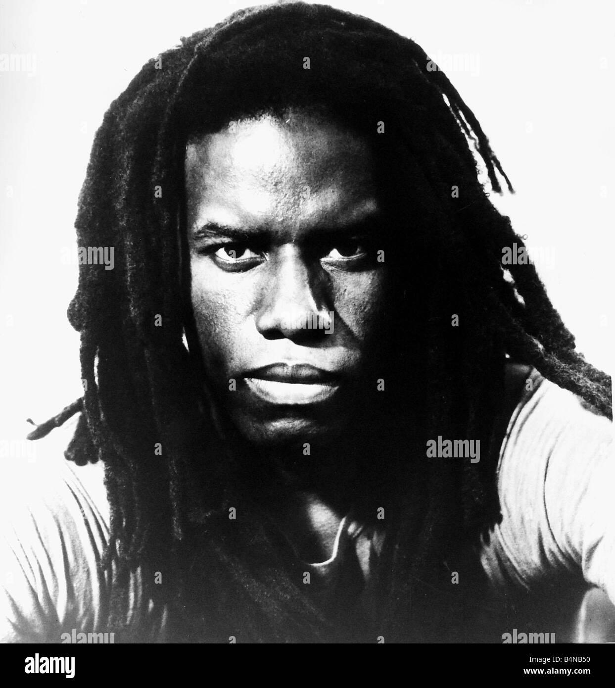 Eddie Grant Jamaician pop singer reggae 1982 - Stock Image