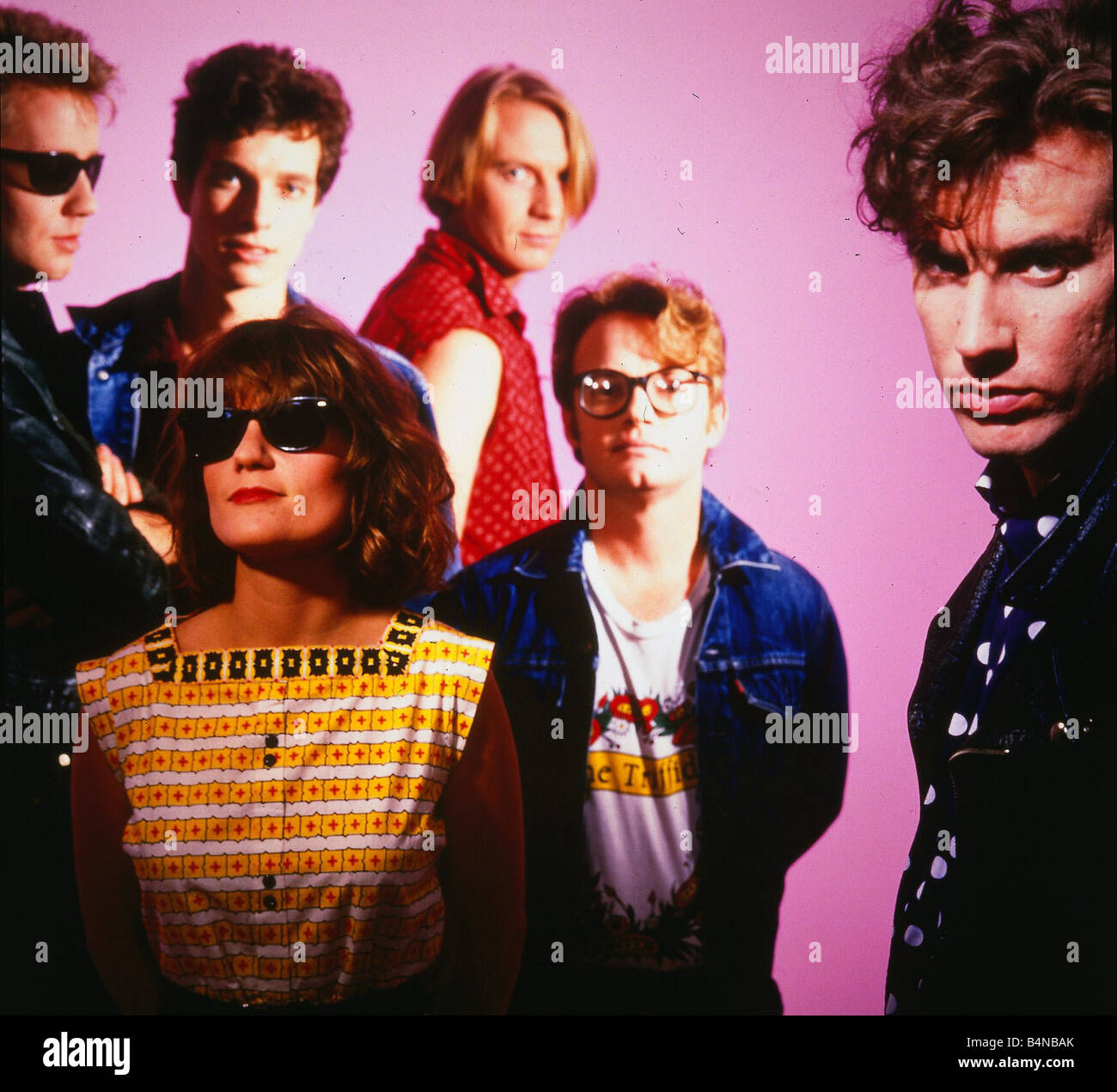 Triffids Pop Group Band Circa 1980