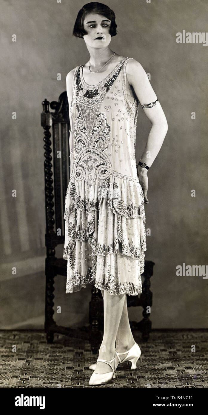 Evening Gown 1920s Stock Photos & Evening Gown 1920s Stock Images ...