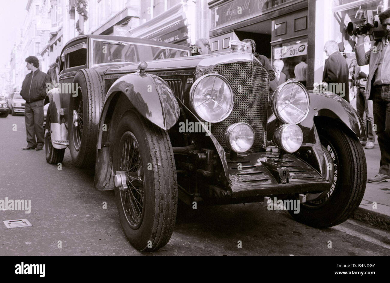 1930 Bentley Silent Speed Six up for auction Sotheby s 1984 November 1984 - Stock Image