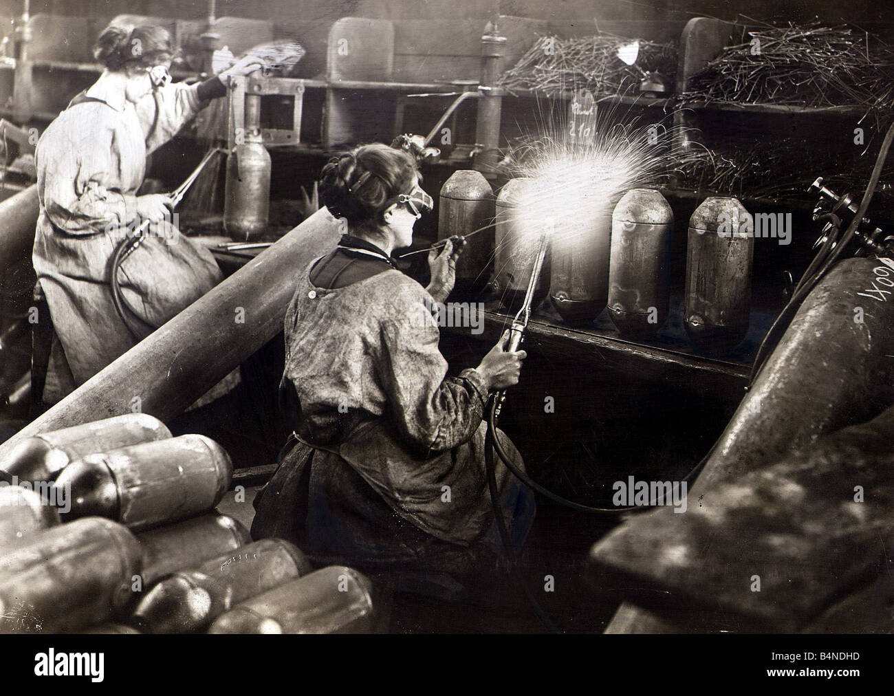 women and munition making He comes to the understanding that the women are munitions workers   munition-ettes held responsibilities for making and filling shells and.