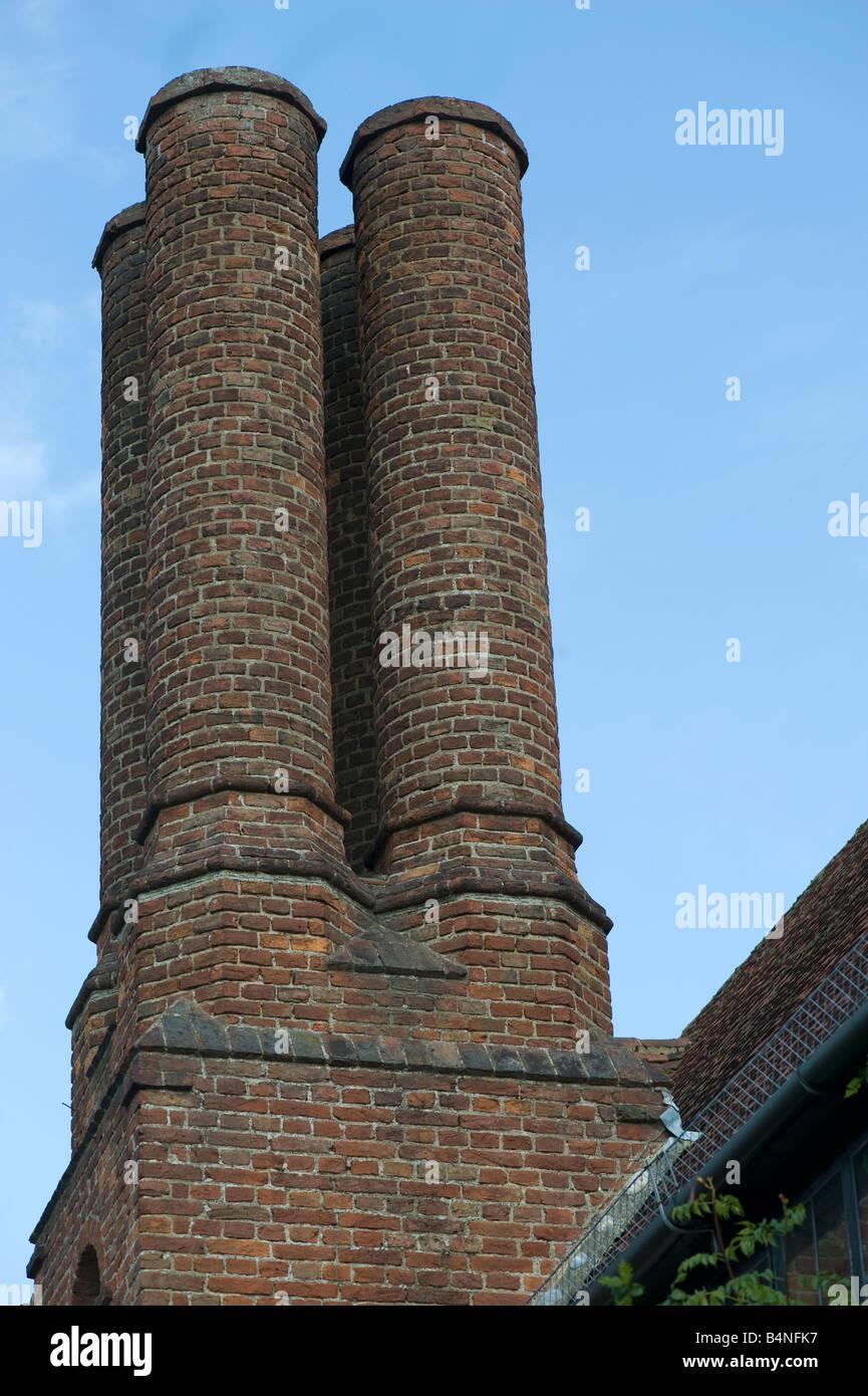 Chimney Pots at Wisley Gardens - Stock Image