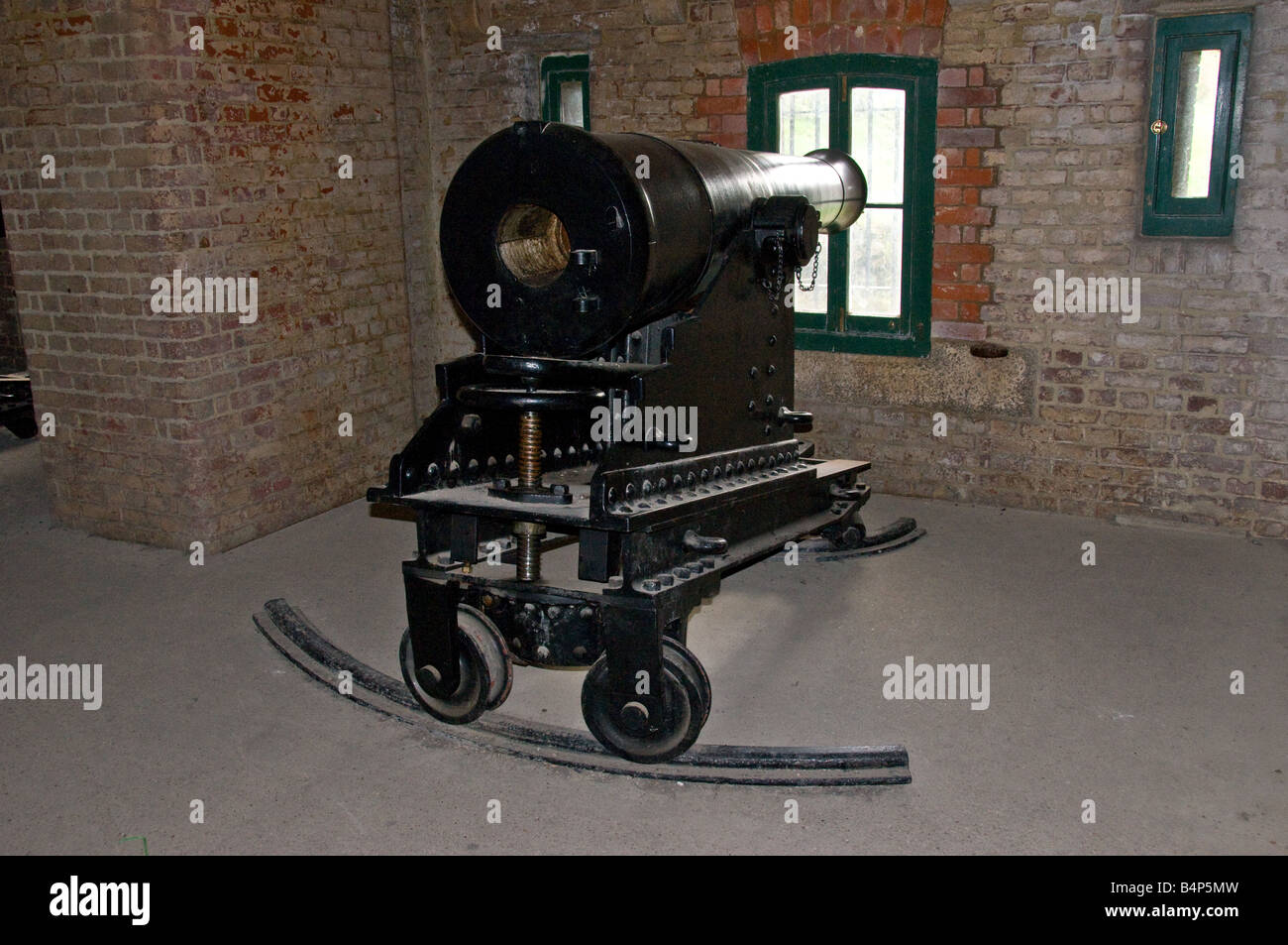 Man Cave Fort Nelson : Portsdown stock photos & images alamy