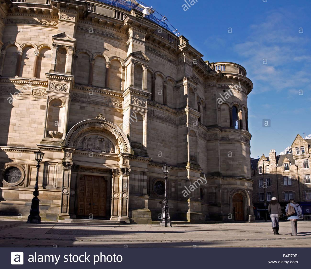 McEwan Hall, Edinburgh University - Stock Image