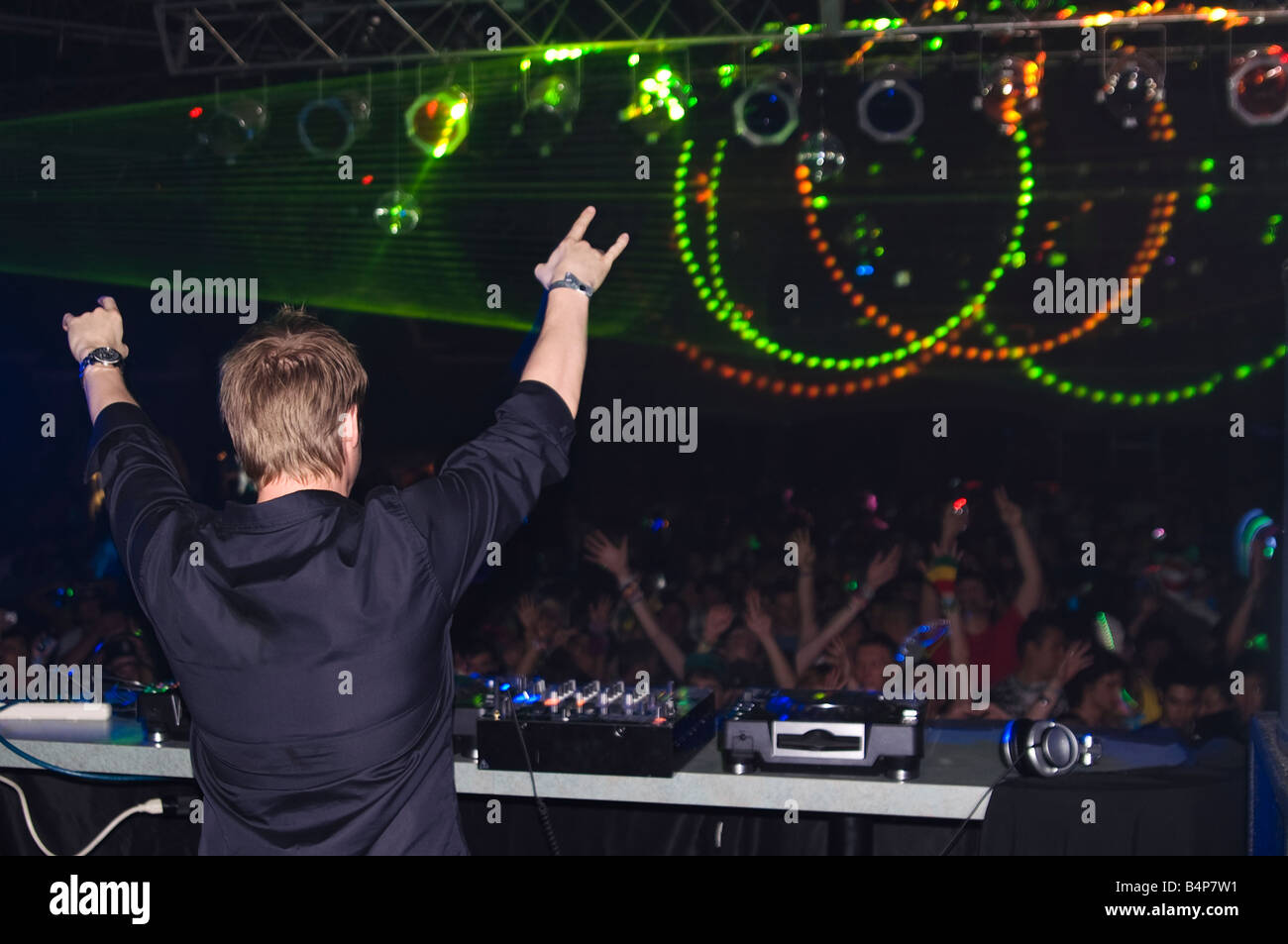 Ferry Corsten performing in the U S A for Insomniac Events at Quest - Stock Image