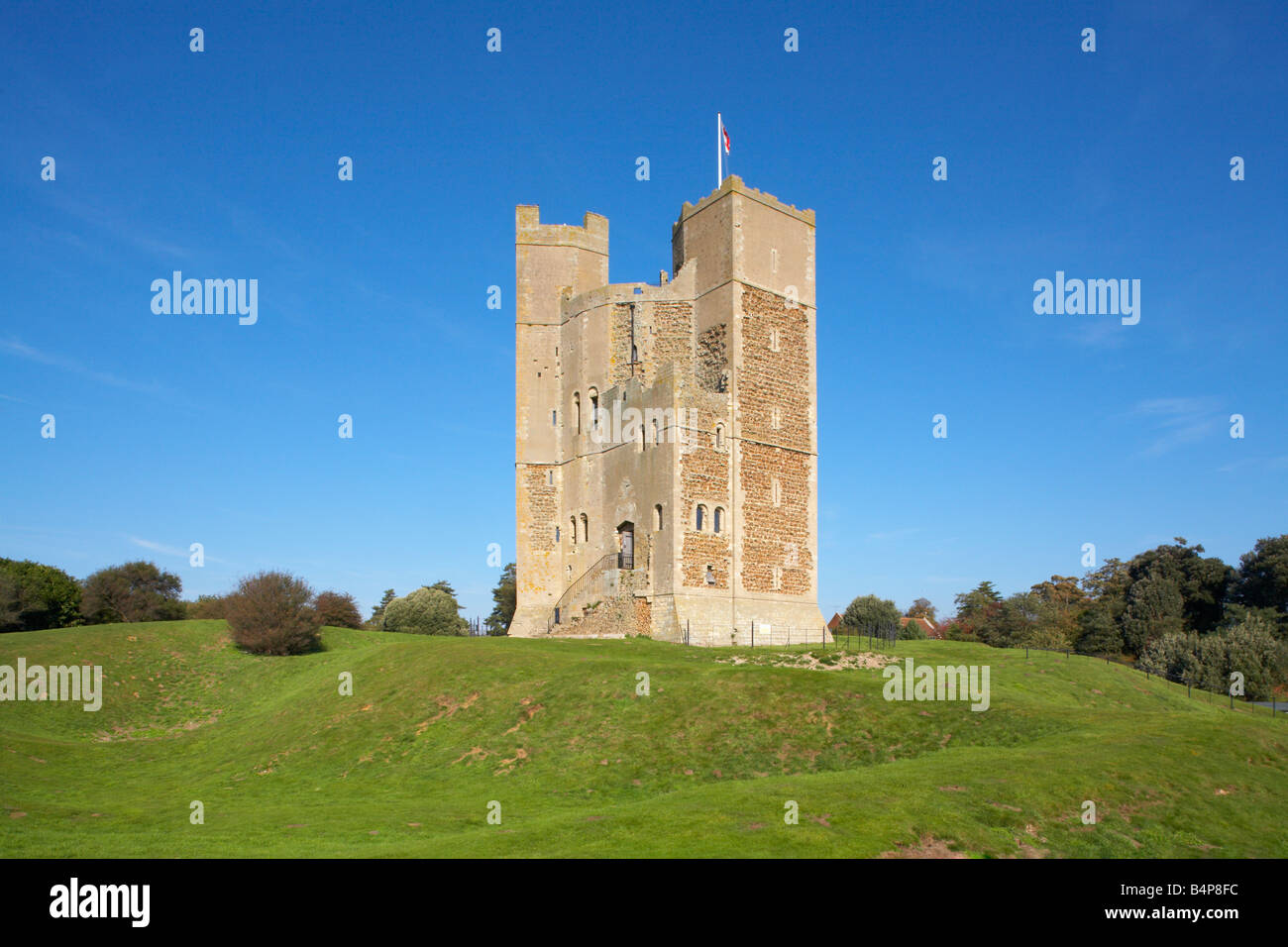 Great Britain United Kingdom England Suffolk Orford Castle 12th Century 1165 - 1173 - Stock Image