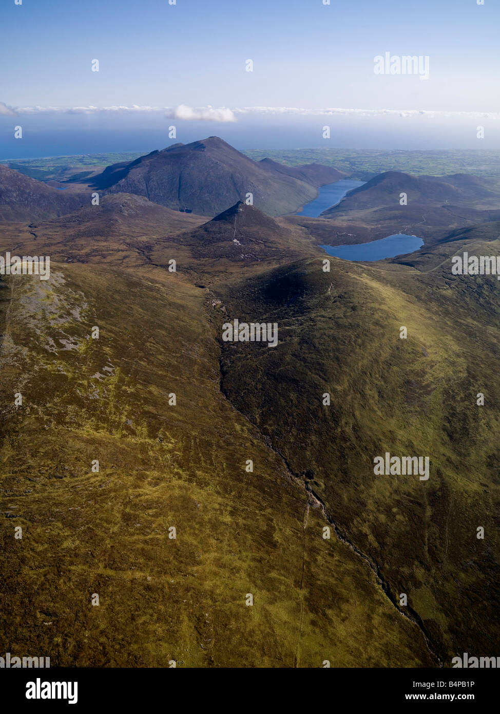 Mournes Aerial Co. Down Northern Ireland Ulster - Stock Image