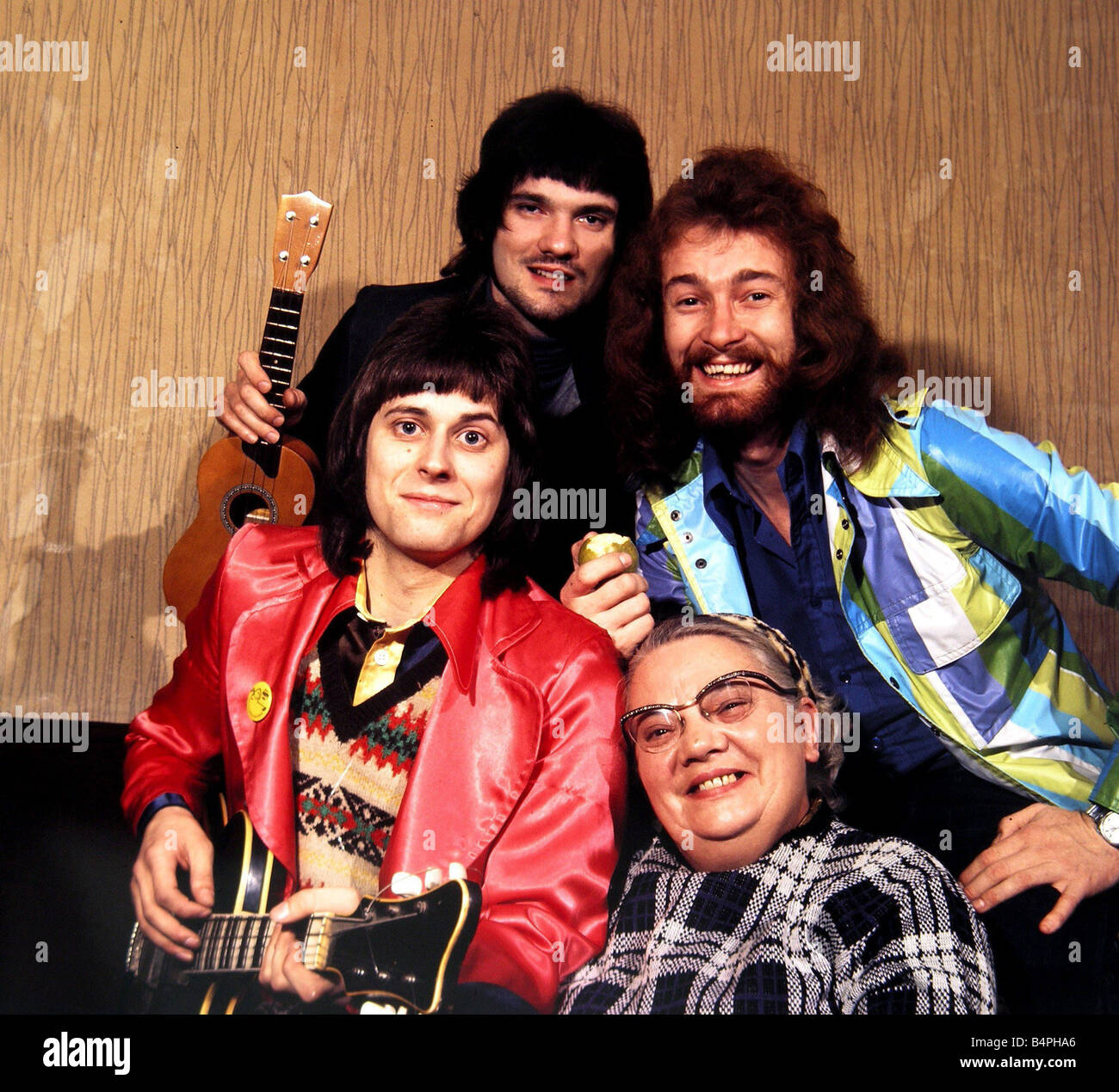 Lt Pigeon Pop Group seen here in rehearsals at the Coventry studios of Top of the Pops 1973 - Stock Image