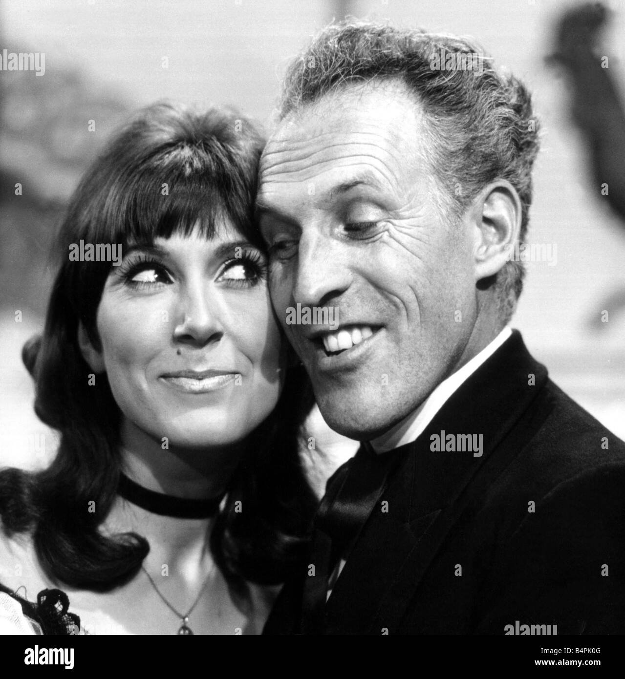 Anita Harris seen here with the host of The Bruce Forsyth Show circa 1965 - Stock Image